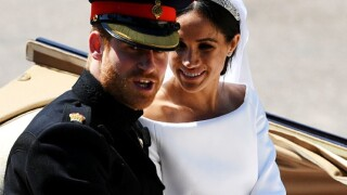 Royal wedding photos: Prince Harry and Meghan Markle tie the knot