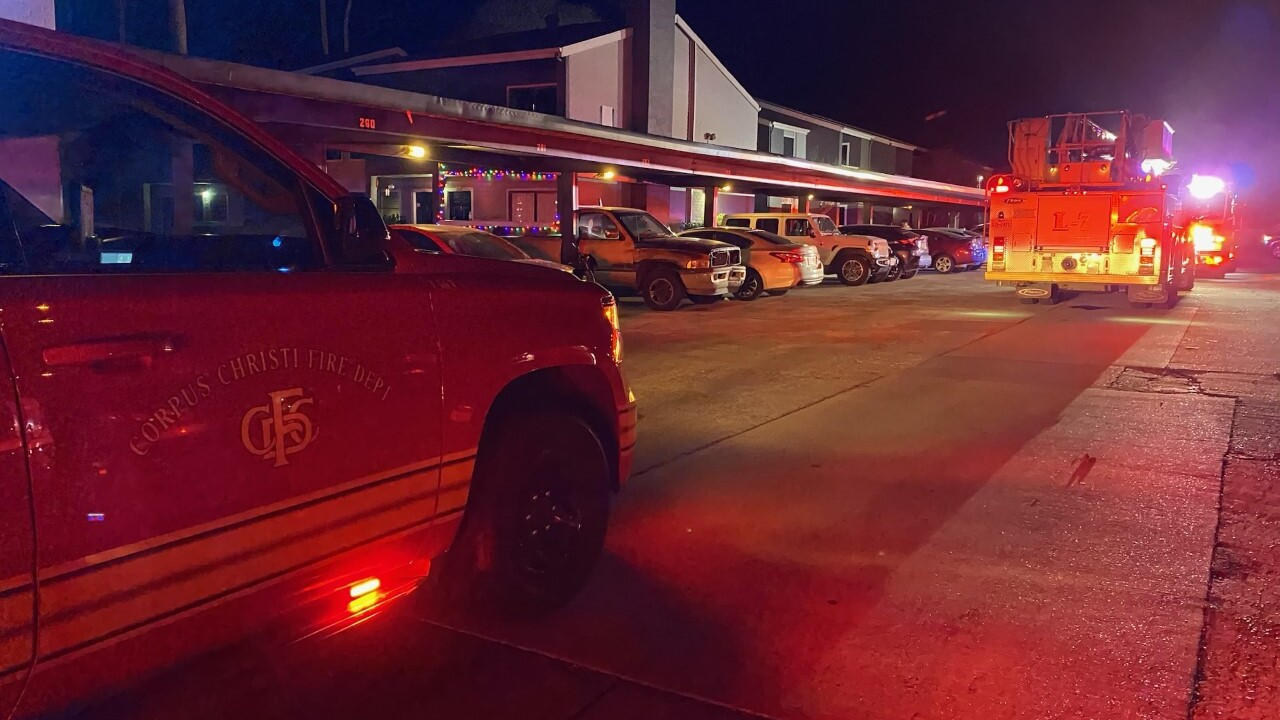 Fire at apartment caused by Christmas lights electrical cord