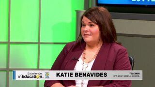 Excellence in Education – Katie Benavides