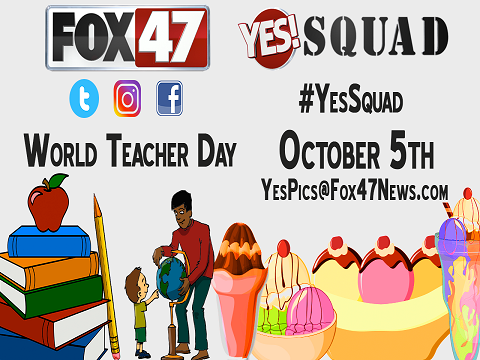 World Teacher Day promo box