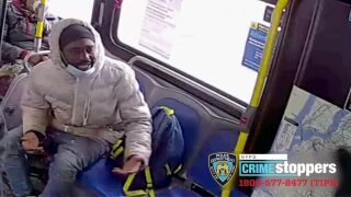 MTA bus driver spat on, hit with two-by-four