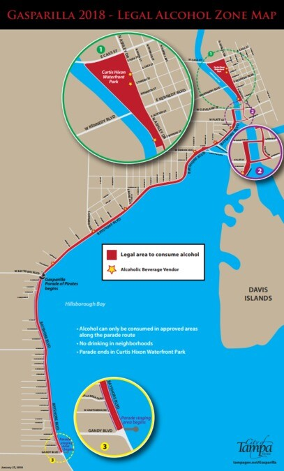 Gasparilla Wet Zone 2018