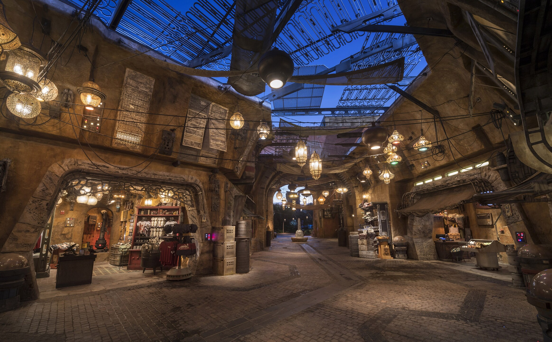 Black Spire Outpost Marketplace in Star Wars: Galaxy's Edge