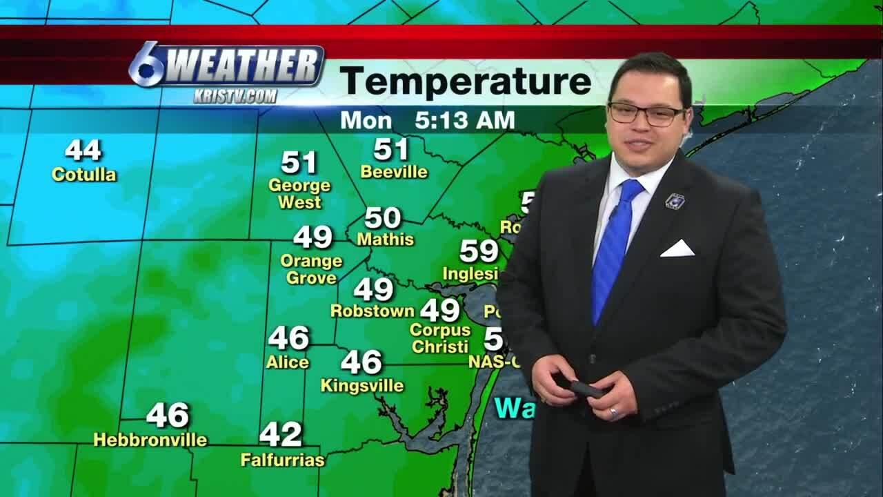Juan Acuña's weather for Jan. 4, 2021
