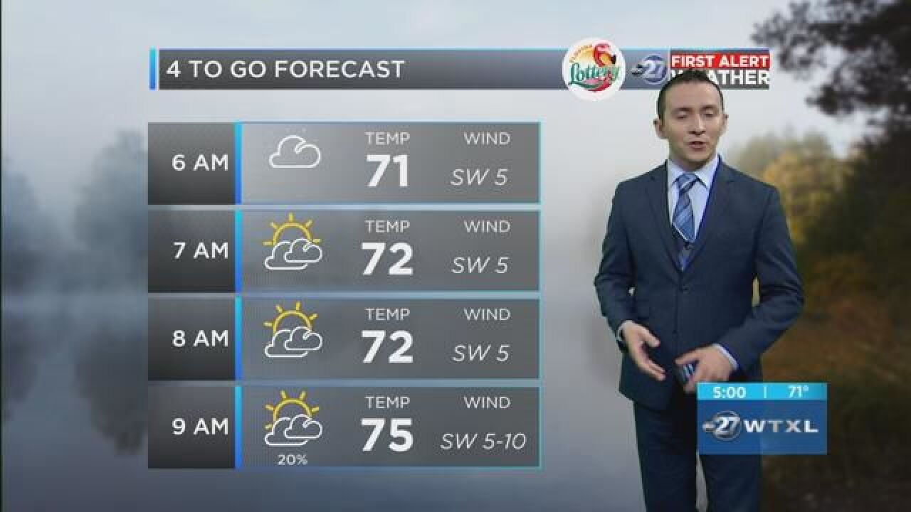 First Alert 4-to-Go Forecast: May 24, 2018