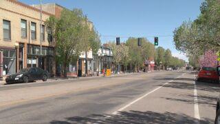 Downtown Pueblo.