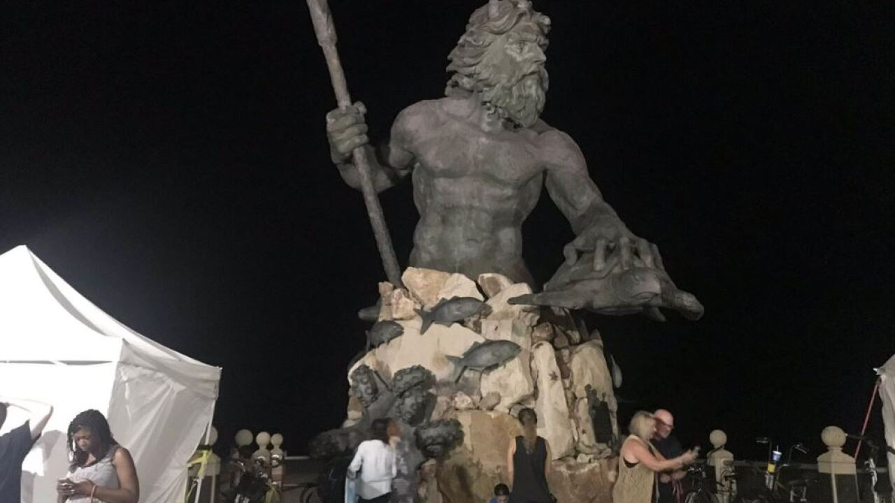 Neptune gives local businesses an economic boost during his annual Neptune Festival