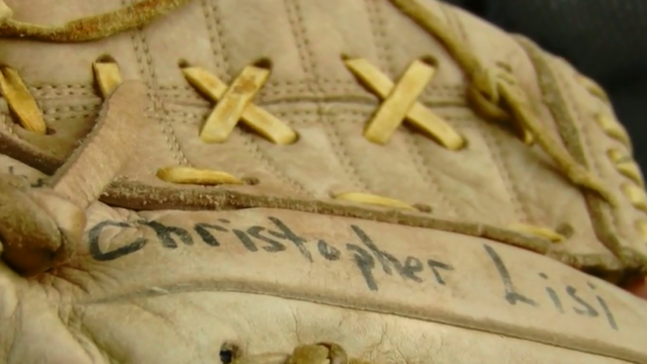 Couple from Ohio find son's lost childhood baseball mitt in Jupiter Goodwill