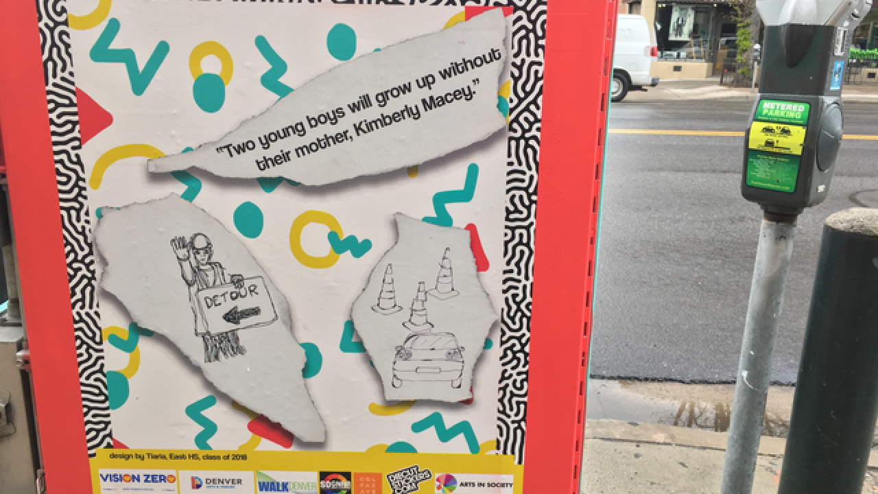 Painted utility boxes highlight traffic violence