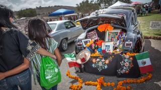 Dia de los Muertos celebration in Oceanside