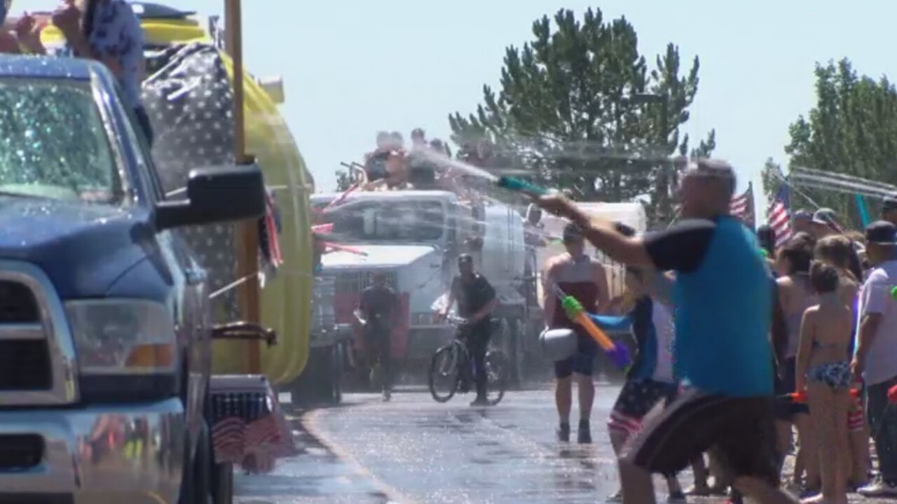 Pueblo West Wet Parade