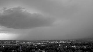 Fort Carson thunderstorm