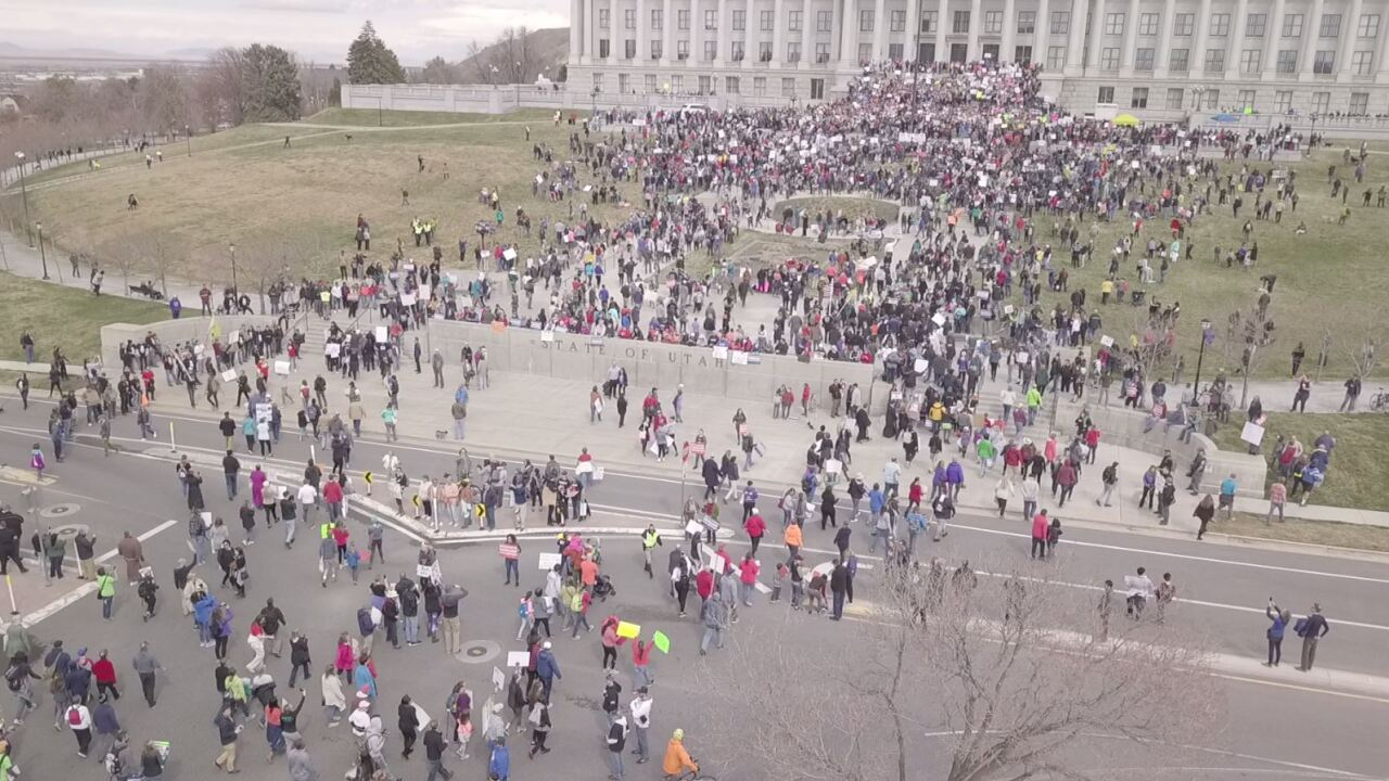 Thousands of Utahns 'March for Our Lives' in support of gun reforms