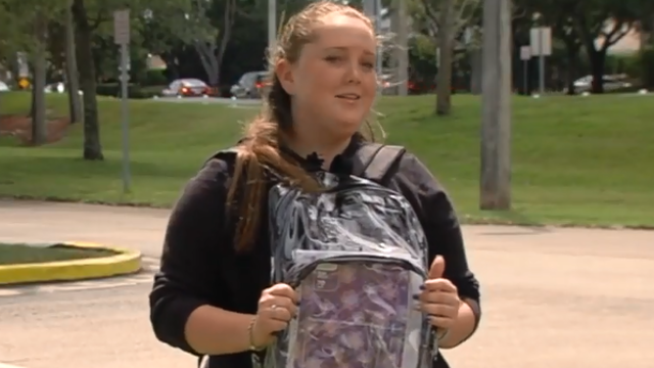 Marjory Stoneman Douglas students not counting on clear backpacks to keep them safe