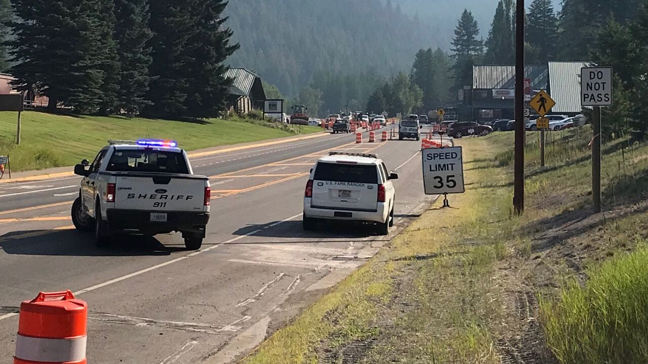 Highway 2 between West Glacier and East Glacier is currently closed due to the investigation