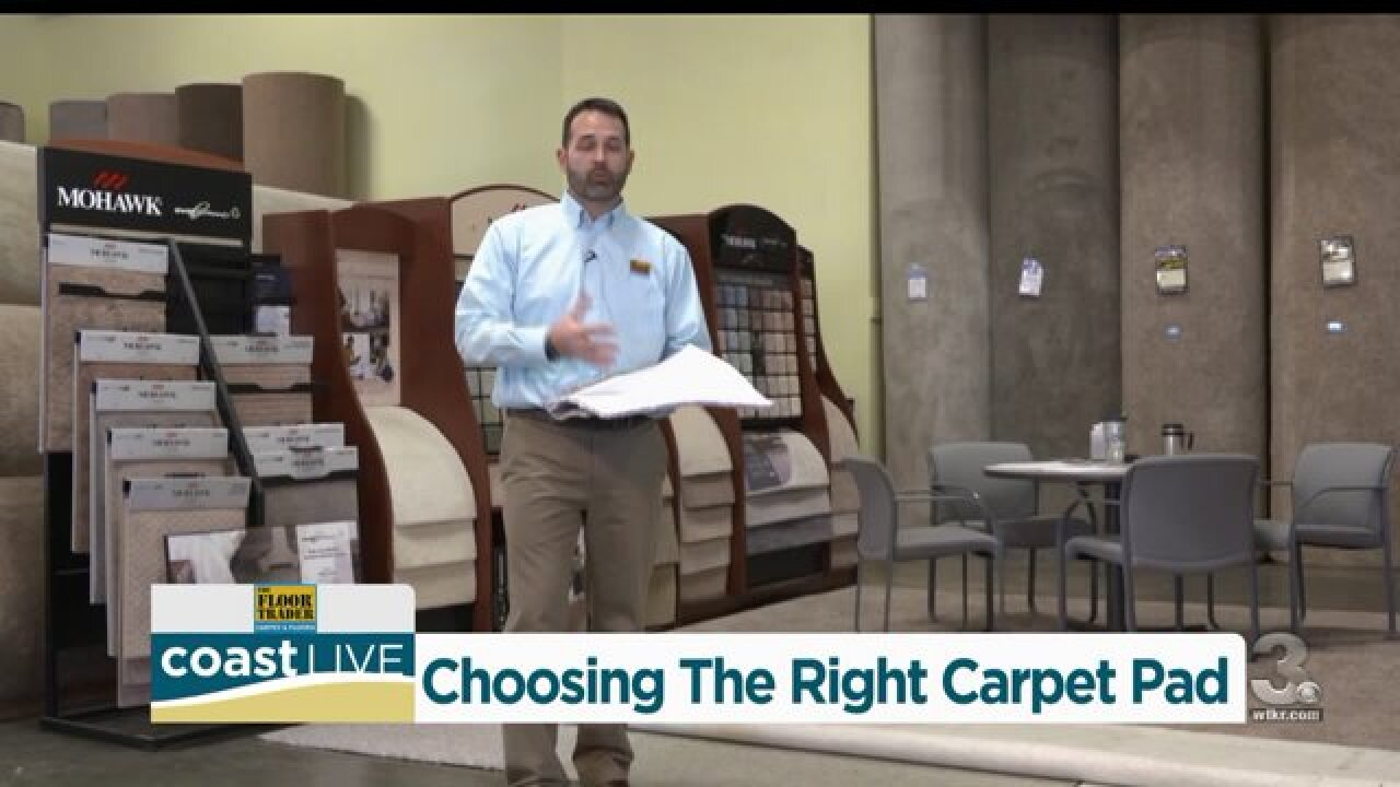 How to choose a carpet pad from Team 3Professionals