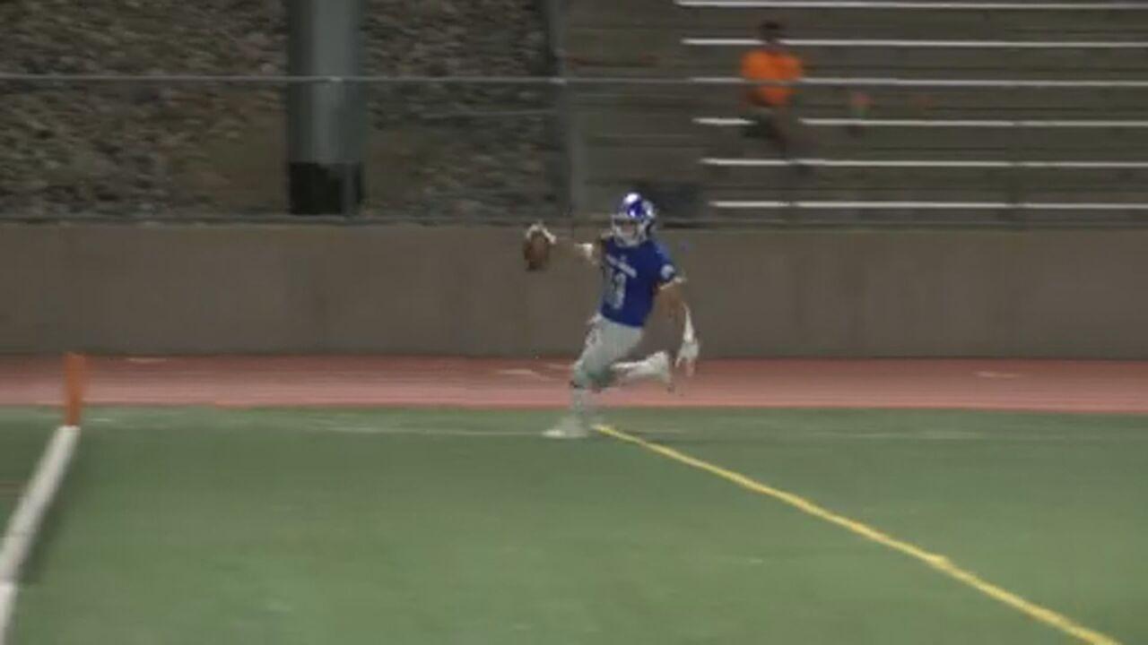 Jordan Atencio's stiff-arm strength touchdown -- Play of the Week (Week 3)