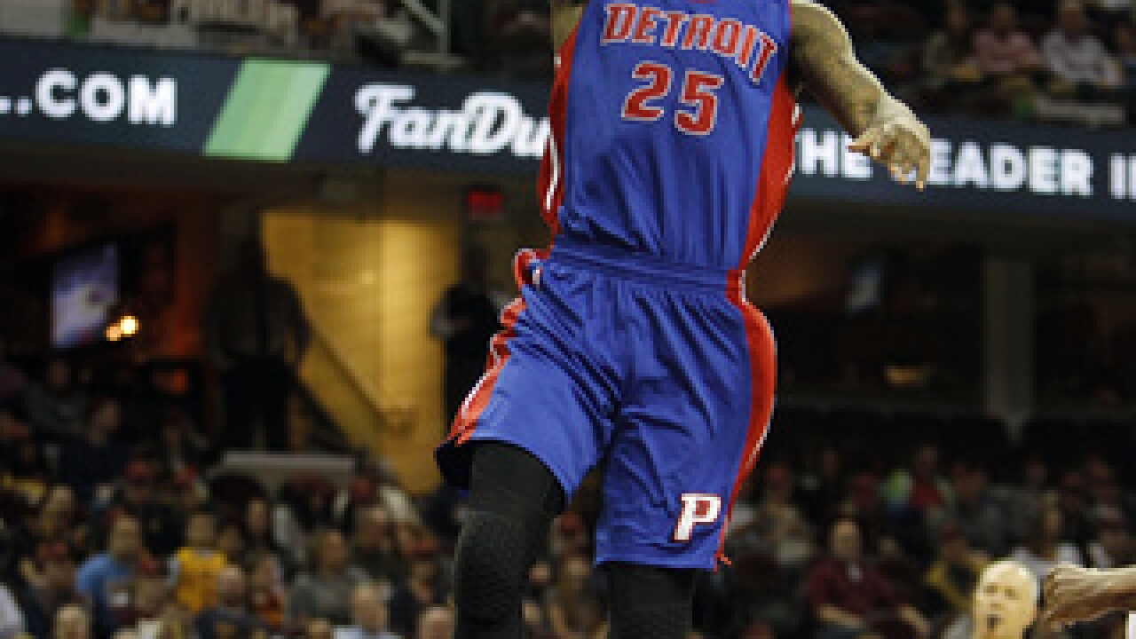Sharp-shooting Pistons hold on for 114-110 win over Magic
