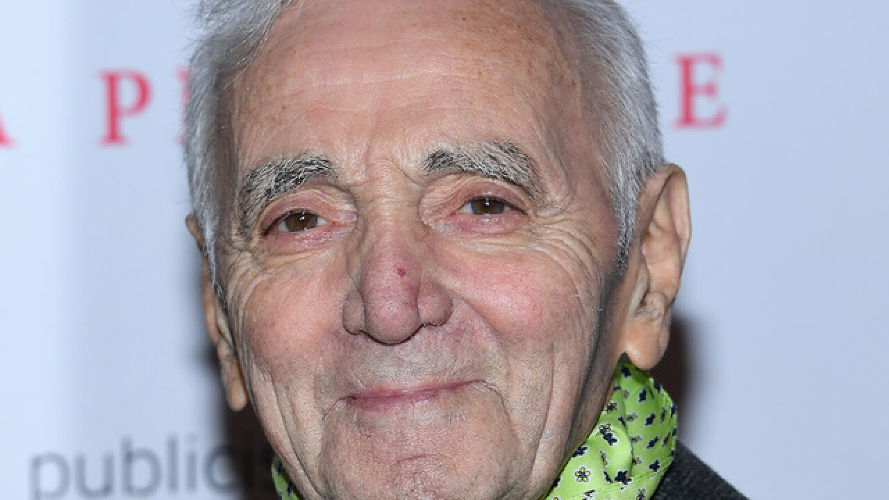 Charles Aznavour, singer dubbed 'France's Frank Sinatra,' dies at 94