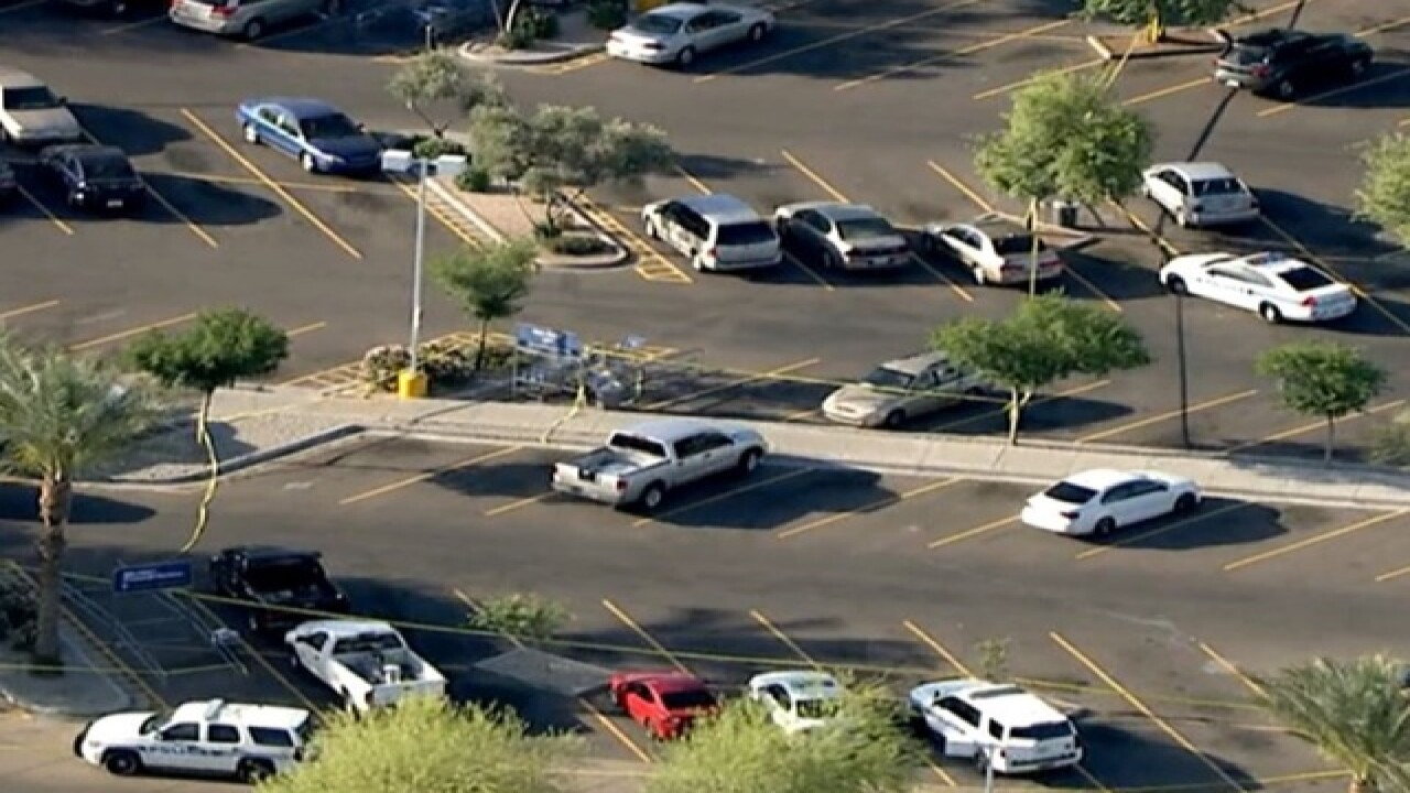 Two officers shot in Chandler Walmart