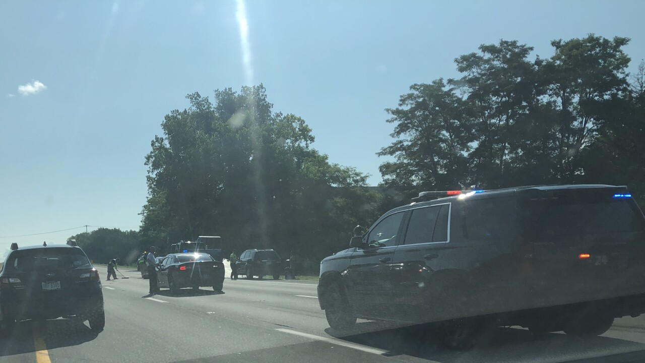 Crash causes 90-minute delay on I-90 eastbound near Crocker Road