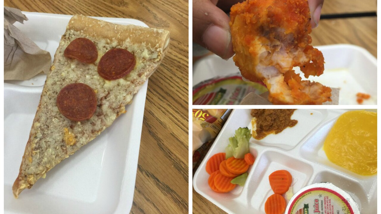 Would you want your kids eating this at school?