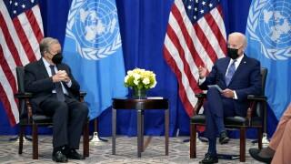 Joe Biden, Antonio Guterres
