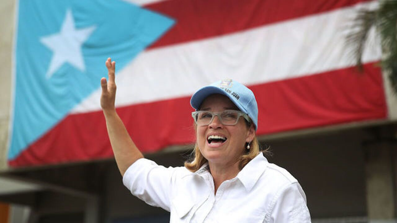 San Juan mayor continues war of words with President Trump