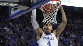 Richards Announces Return to Kentucky for Junior Season