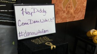 Children with cancer are asking Diddy to dance withthem