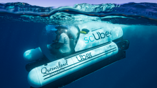 Underwater ridesharing: ScUber is taking people underwater to the Great Barrier Reef