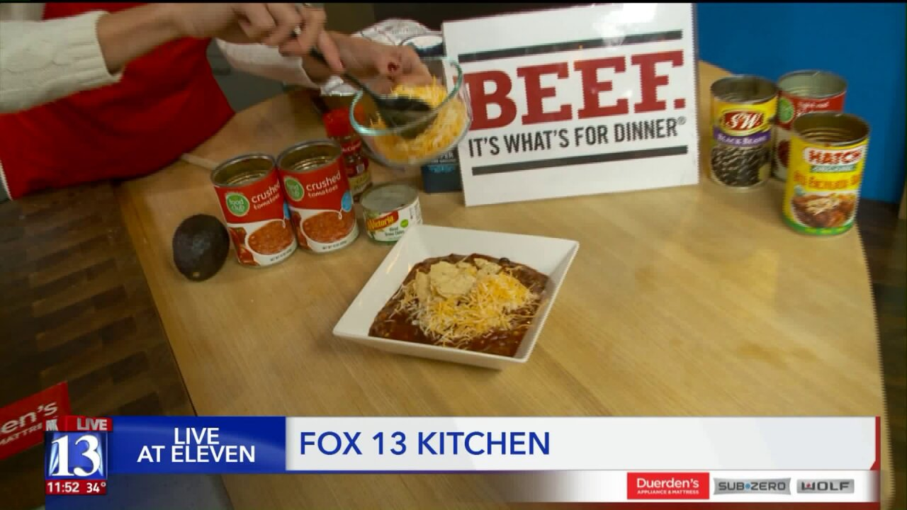 Recipe: Beef EnchiladaSoup