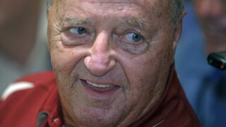 Bobby Bowden at ACC media day in 2009
