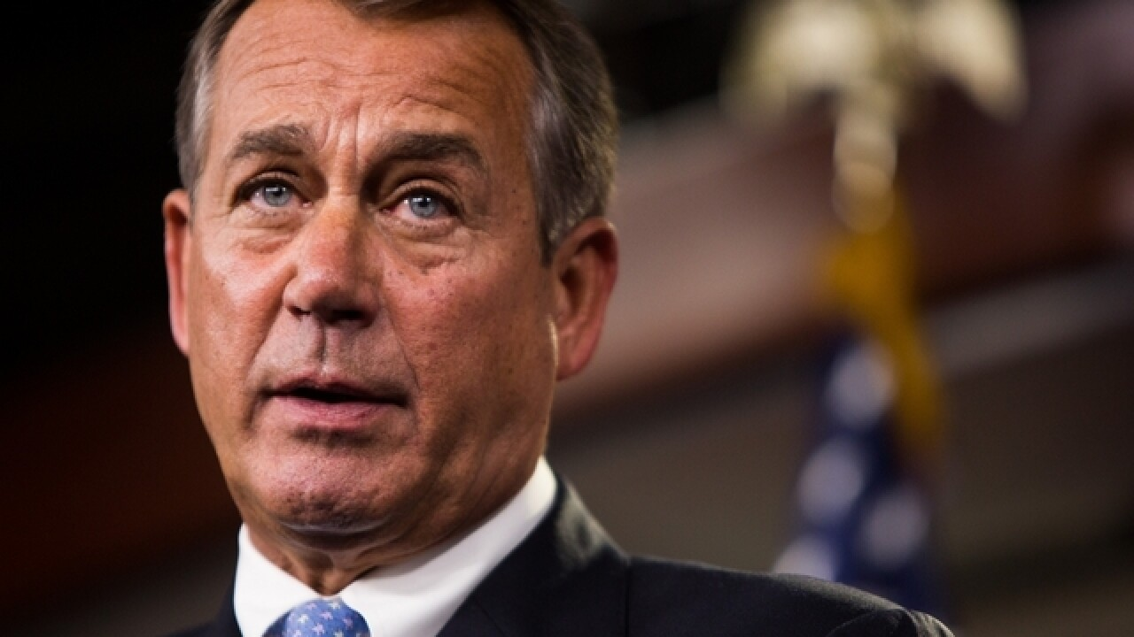 Boehner says Obamacare repeal and replace is 'not what's going to happen'