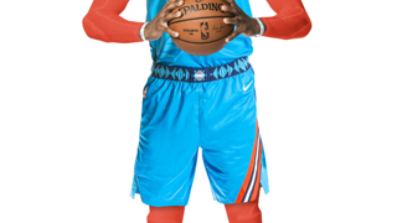 new product aec58 3dc9e Oklahoma City Thunder unveil uniforms honoring Native ...