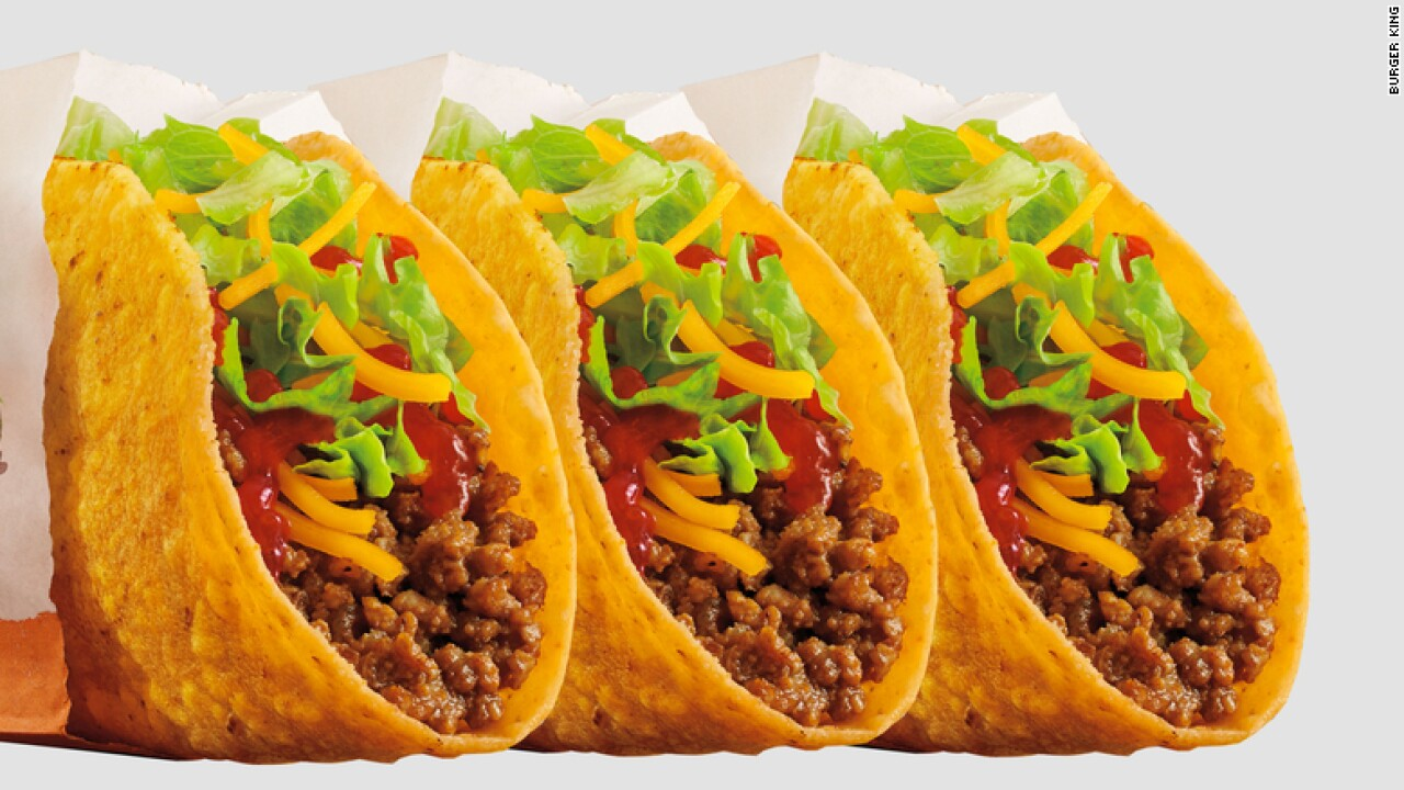 Burger King is now selling $1 tacos for a limited time