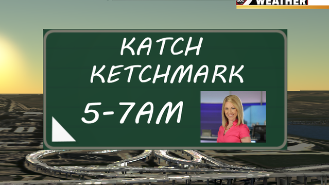 Tune into Good Morning Tri-State Thursday morning to see if you can Katch Ketchmark