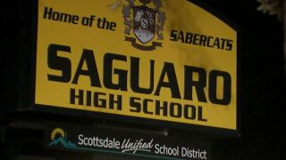 Saguaro High School in Scottsdale