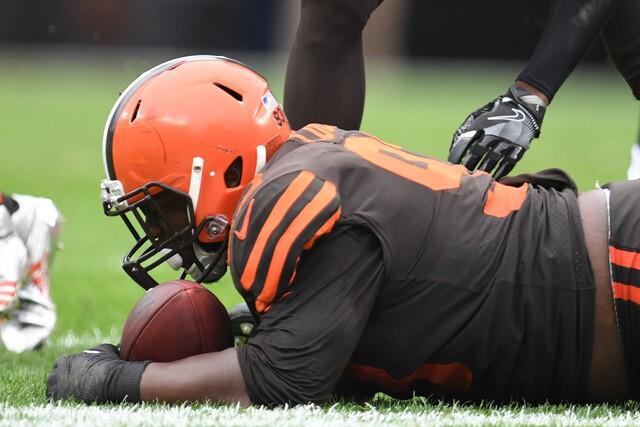 IMAGES: Cleveland Browns vs. Baltimore Ravens