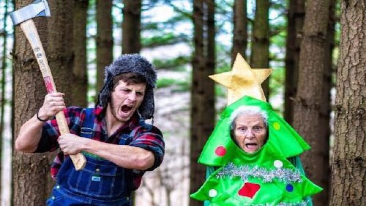 This Grandmother And Her Grandson Dress In Costumes And Take Hilarious Photos Together