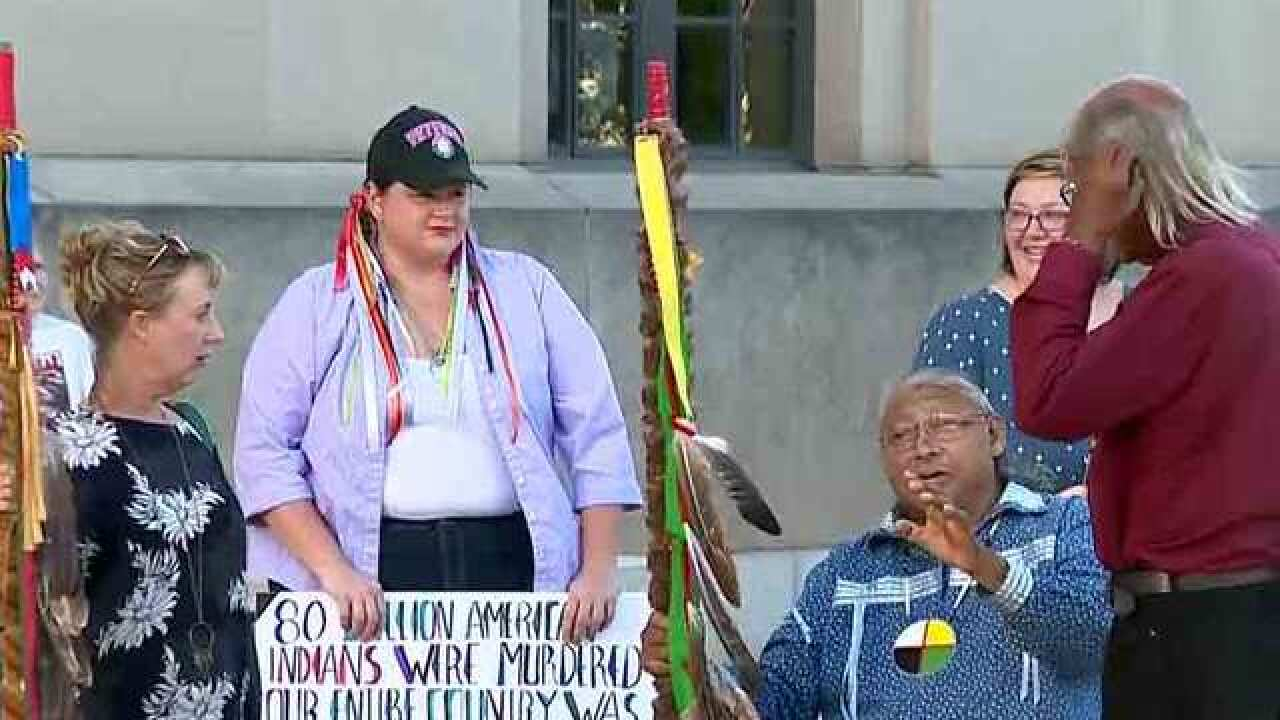 Monday Will Also Be 'Indigenous Peoples Day'