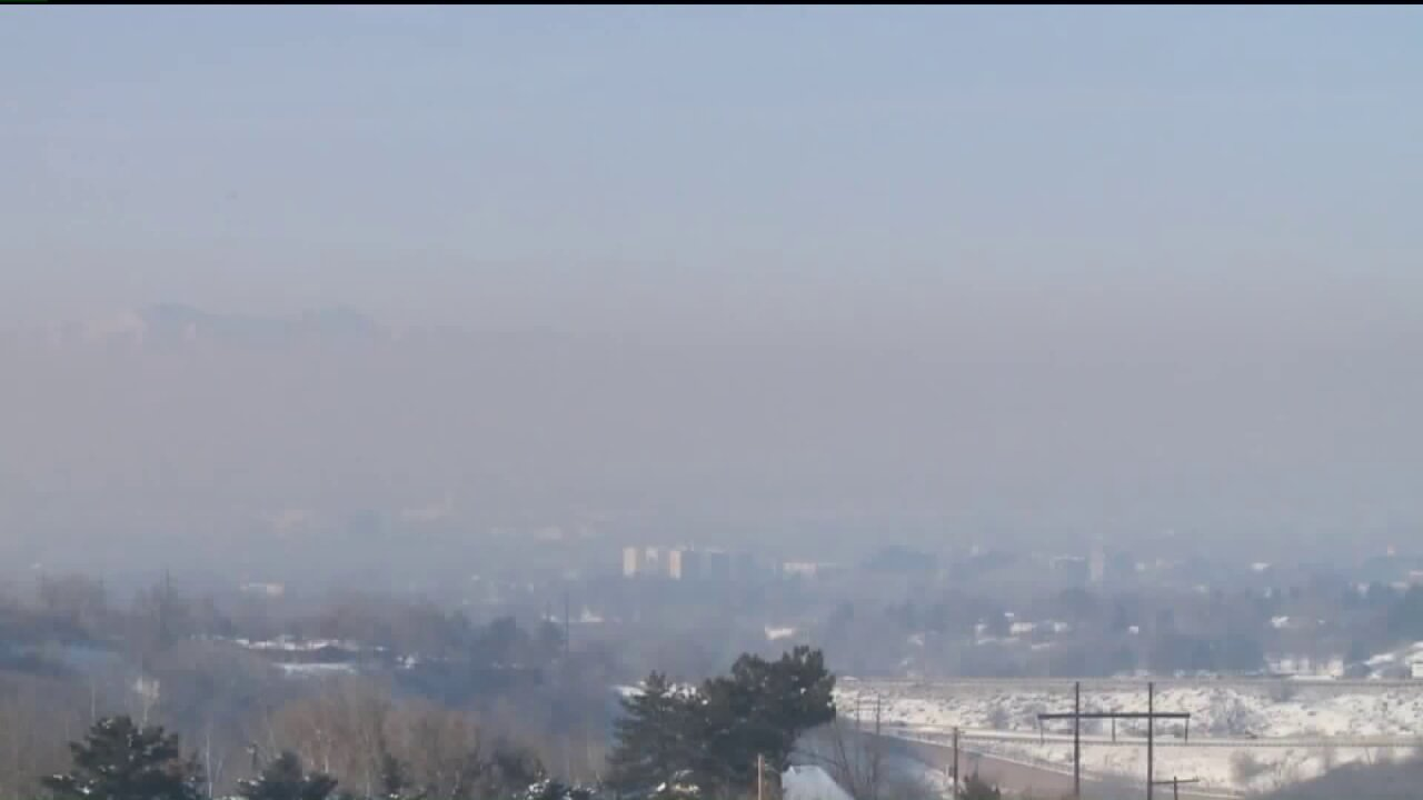Inversion conditions expected to continue through weekend in Salt LakeValley
