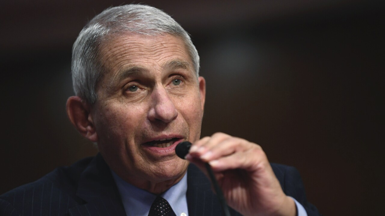 Fauci warns of a 'difficult' winter of 'hunkering down' amid pandemic