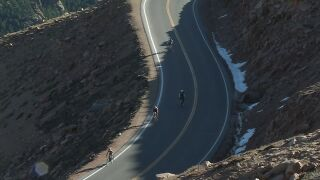 11th annual Pikes Peak Cycling Hill Climb