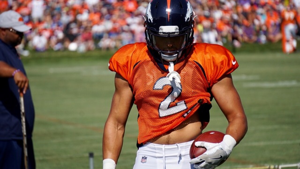 Broncos' Phillip Lindsay prepared to make impact in NFL debut