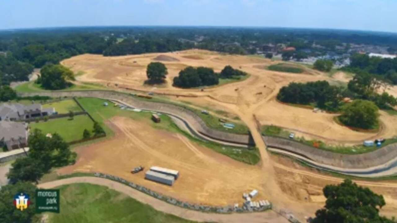 Cool video of Moncus Park construction