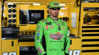 Kyle_Busch_Monster Energy NASCAR Cup Series Consumers Energy 400 - Practice