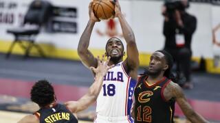 76ers Cavaliers Basketball