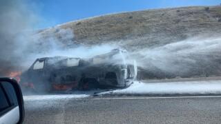 Vehicle Fire I-90 MM 264