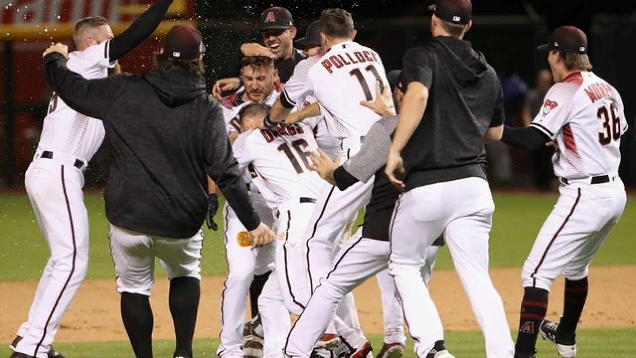 Diamondbacks mount incredible rally, beat Dodgers in longest-ever Chase Field game
